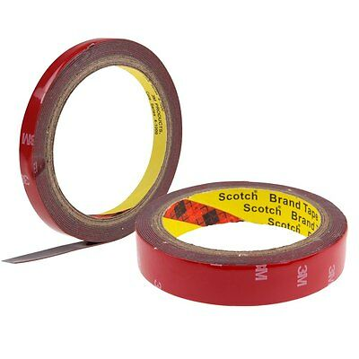 Free 3M Auto Acrylic Foam Double Sided Attachment Adhesive Tape Truck Car 6~20mm