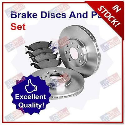 Front Brake Disc and Pad Set for Kia Soul 1.6 (02/09-Present)