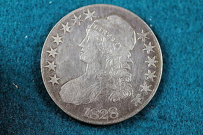 ESTATE FIND 1828 Capped Bust Half Dollar!! #C3329