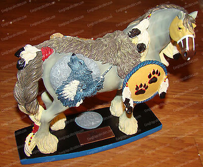 Wolf Spirit (Horse of a Different Color by Westland, 20332) Clydesdale