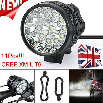 Super Bright 28000LM CREE T6 LED Mountain Bike Light Cycling Bicycle Head Light