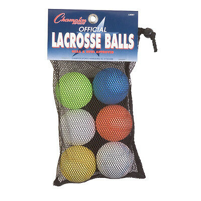 Champion Sports Official Lacrosse Balls (12 Pack)