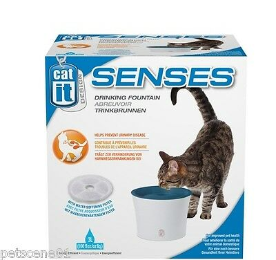 Hagen Catit Design Senses Drinking Fountain 3L Cats & small Dogs 50761