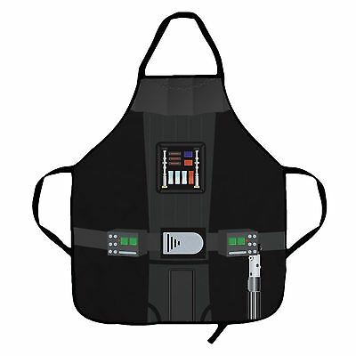Star Wars Apron Darth Vader Men's BBQ Cooking Apron Funny Chef Black 100% Cotton