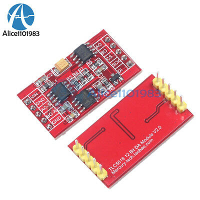 TLC5618 12bit DAC Module Sine Wave Generator High Speed Serial Port
