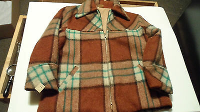 Vintage Childs Wool Jacket New Old Stock Unknown Size
