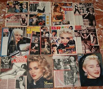 Madonna German Clippings Lot