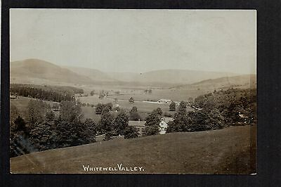 Whitewell Valley - real photographic postcard