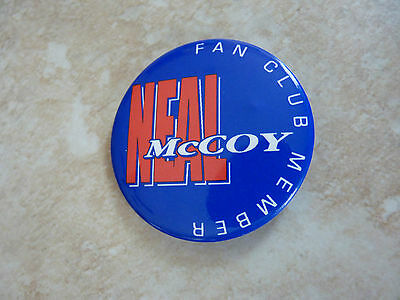 """Neal McCoy Country Music Fan Club Member Round 2.25"""" Pin Button"""