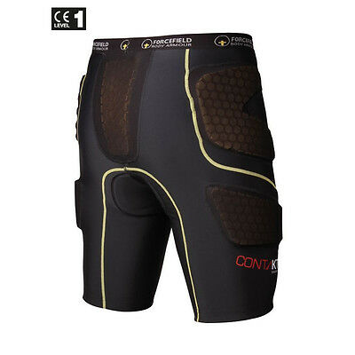 Forcefield Body Armour Contakt Mountain Bike Protection Shorts - w/Armour -