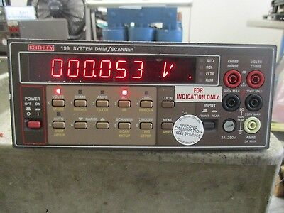 Keithley Model: 199 DMM / Scanner <