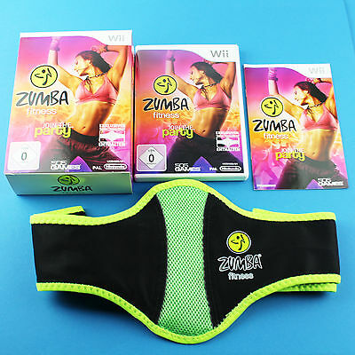 Zumba Fitness: Join the Party (Nintendo Wii, 2013, DVD-Box)