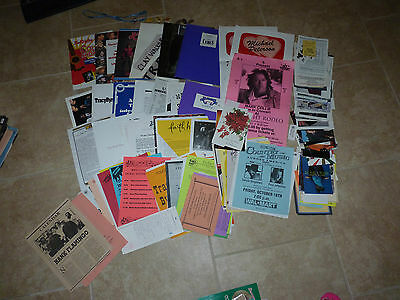 Giant Huge Lot of Country Music Flyers Press Kits Cards Promo Paper Late 90s