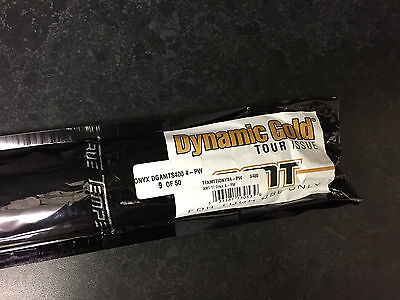Rare Limited Edition Dynamic Gold Tour Issue Amt S400 Black Onyx Shafts 3-Pw