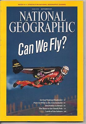 national geographic-SEPT 2011-PERSONAL FLIGHT.