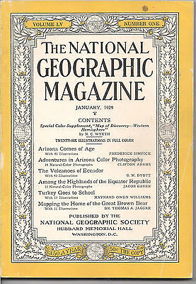 national geographic-JAN 1929-TURKEY GOES TO SCHOOL.