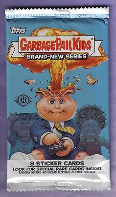 2012 Garbage Pail Kids Brand New Series 1 Unopened Sticker Hobby Pack from Box!