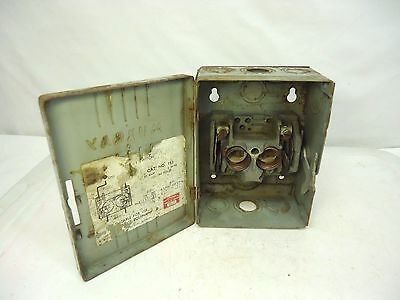 Murray Safety Switch Electric Box Cut Off Steampunk Up-Cycle Restore Vintage