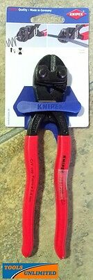 Knipex German Made 200mm Compact Bolt Cutters / Fencing Wire Nippers     7101200