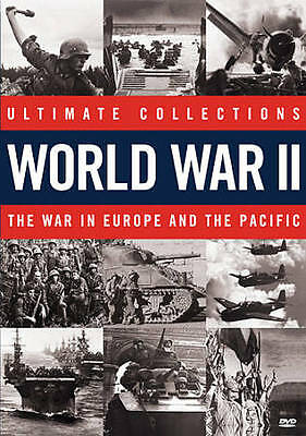 Ultimate Collections World War II: The War in Europe and the Pacific WWII  NEW
