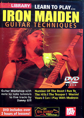 IRON MAIDEN Learn 5 Tracks note for note Web Support JAM TRACKS 2 Hours