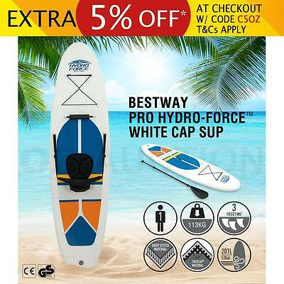 New Bestway 3M Inflatable Stand Up Paddle Board Surfboard Sup Kayak Pump