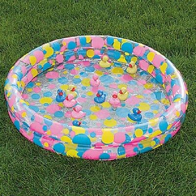 """Inflatable Yellow Duck Pond Carnival Game 36"""" x 6"""""""