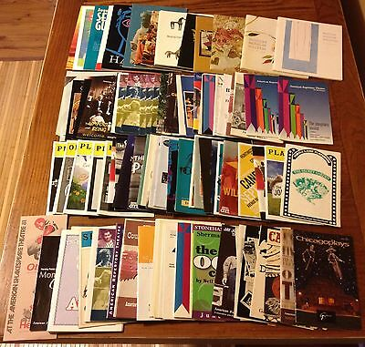 Theatre Programs Collection Wholesale Lot of 100+ Playbill Showbill