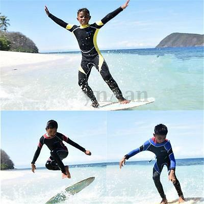 #8 to #14 2mm Kids Children Neoprene Wetsuit For Surfing Snorkeling Scuba Diving
