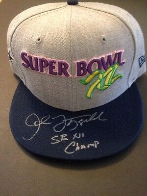 Autographed Dallas Cowboys Super Bowl Xii Champion Snapback Hat J Fitzgerald Coa