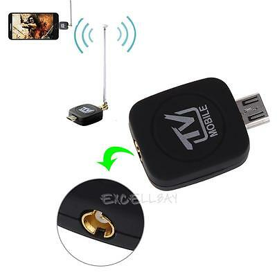 Mini Micro USB DVB-T Digital TV Tuner Receiver Stick Antenna for Android Tablet