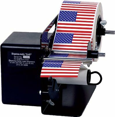 Dispens-a-Matic U-45 Label Dispenser for 4-1/2in Width Professional Business Shi