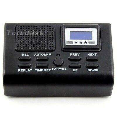 Digital Phone Voice Digital Recorder Auto Telephone Call box w/ SD Card Slot