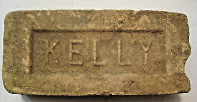 Antique Vintage Kelly Howe Thomson Architectural Embossed Brick ~ Duluth Minn. ~