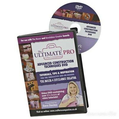 Ultimate Pro Advanced Construction Techniques DVD by Crafter's Companion CD-ROM
