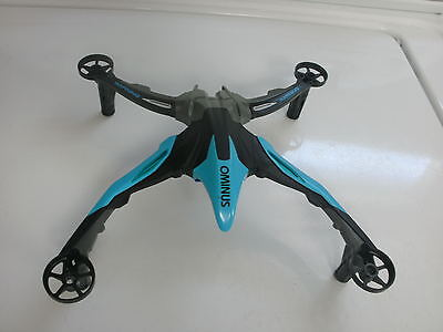 Dromida Ominus FPV COMPLETE CANOPY FRAME QUADCOPTER BLUE DRONE