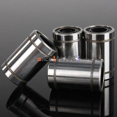 10PCS Hot LM8UU 0.8cm 8mm Linear Motion Ball Bearing Bushing Bush Top Quality