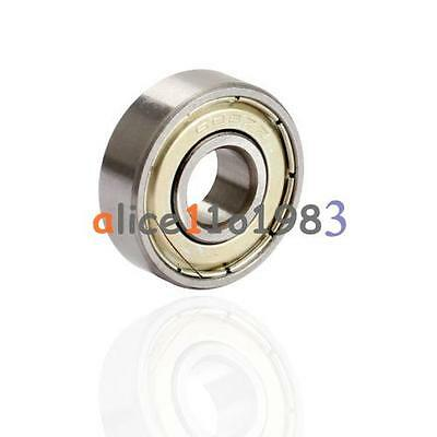 2PCS Flange Ball Bearing F608ZZ 8*22*7 mm Metric Flanged Bearing