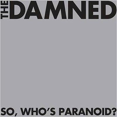 """The Damned """"So, Who's Paranoid?"""" 2x12"""" Vinyl - NEW"""
