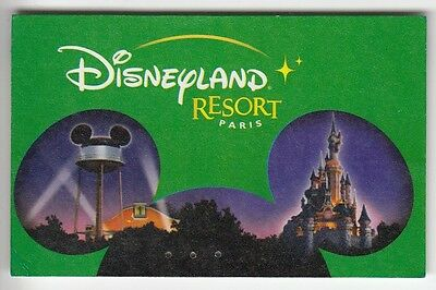 Disney Paris Pass Carte / Card .. Enfant 3 Jours Oreille Mickey Ifco 14/07/2002