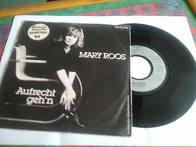 """Eurovision Germany 1984 7"""" Single Mary Roos Aufrecht Geh'n  Excellent Condition"""