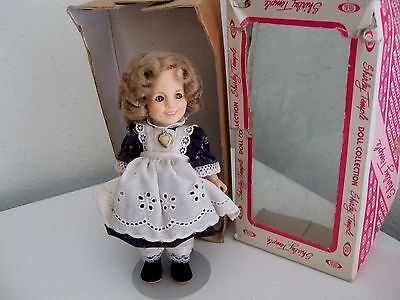 """Shirley Temple Doll 8"""" Ideal Toys 1982 The Littlest Rebel X"""