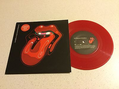 "The Rolling Stones  -  Streets Of Love  -  Red Vinyl 7"" In Picture Cover"