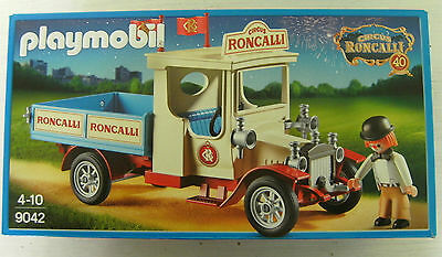 playmobil 9042 zirkus oldtimer lkw laster circus van roncalli neu ovp eur 39 99 picclick it. Black Bedroom Furniture Sets. Home Design Ideas