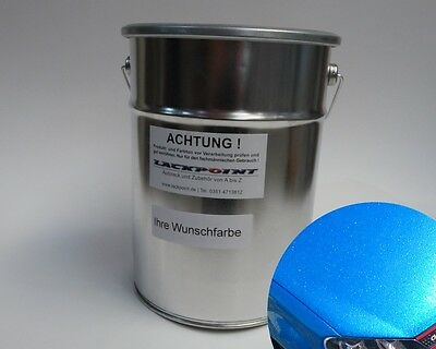 0,5L Basecoat Spray Finish Candy Blue Car Paint Tuning VW Opel BMW Lackpoint new