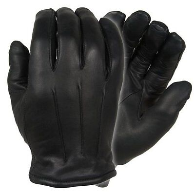 Damascus DLD40 Men's Black Thinsulate Lined Leather Dress Gloves - Size Large