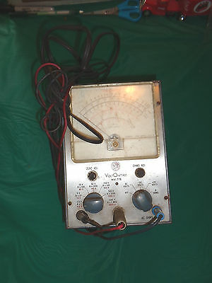 RCA Volt Ohmyst Model WV-77E Meter Unknown Working Condition