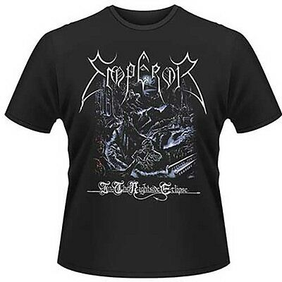 Emperor 'In The Nightside Eclipse' T shirt - NEW