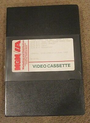 PINK FLOYD THE WALL FILM MOVIE CLIPS on U - MATIC VIDEO TAPE MGM/UA PROMO
