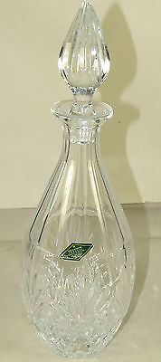 Stunning Shannon Designs Of Ireland 24 Lead Crystal Vase Made In Czech Republic 45 00 Picclick